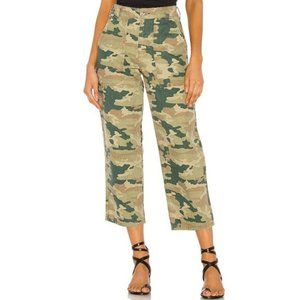 Free People | Remy Camo High Rise Crop Pant Sz 27